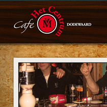 Website Cafe het Centrum Dodewaard