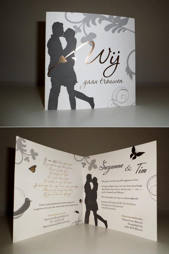 Super Persoonlijke trouwkaarten - Steefs @SY81