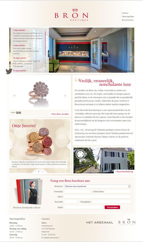 wordpress-website-bronboutique