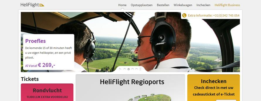 Helikoptervlucht.nl webshop