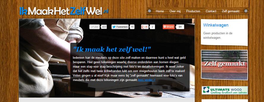 IkMaakHetZelfWel.nl Webshop!