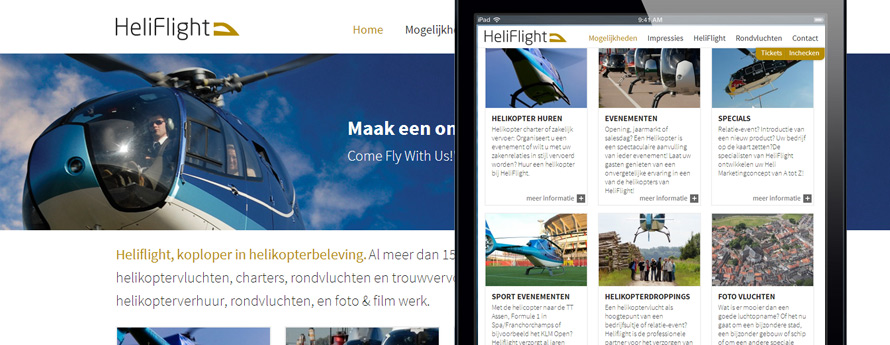 HeliFlight website